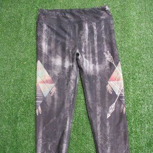 Evolution and Creation Southwest Print Leggings M